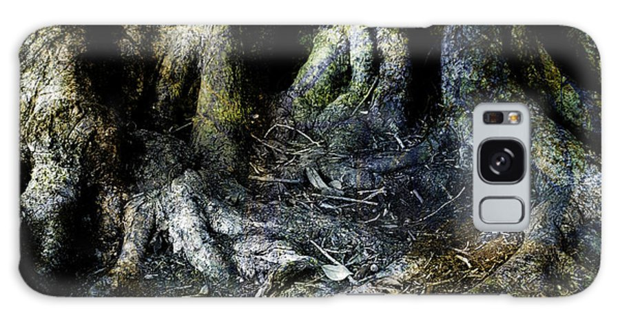 Tree Galaxy S8 Case featuring the photograph Beyond The Forest Edge by Kelly Jade King
