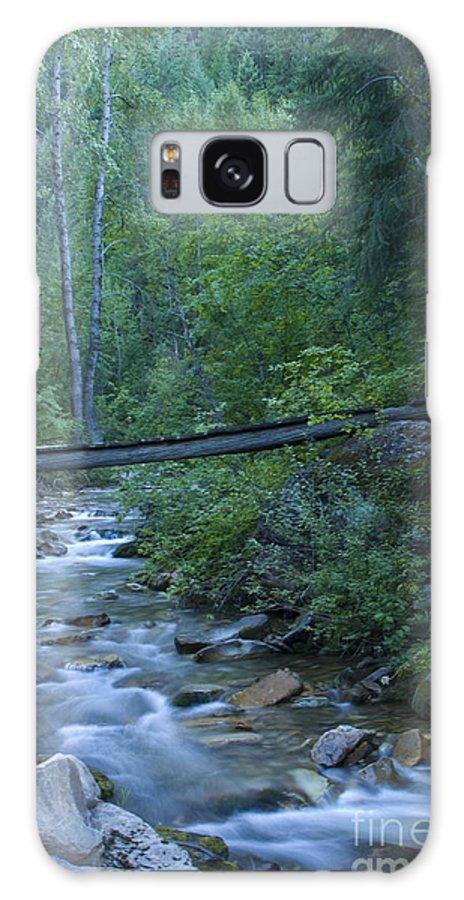Creek Galaxy S8 Case featuring the photograph Big Creek Bridge by Idaho Scenic Images Linda Lantzy