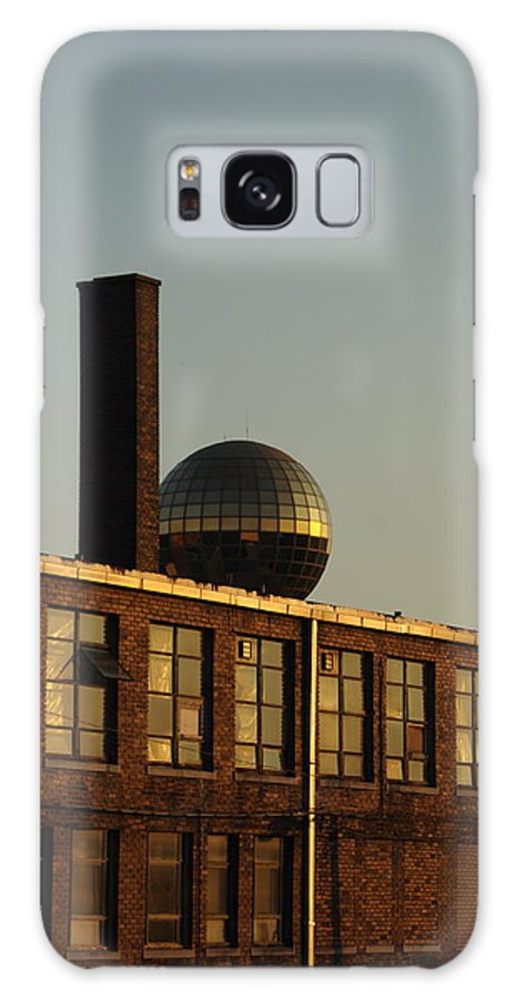 Knoxville Galaxy S8 Case featuring the photograph Big Gold Ball by Carmen Hooven