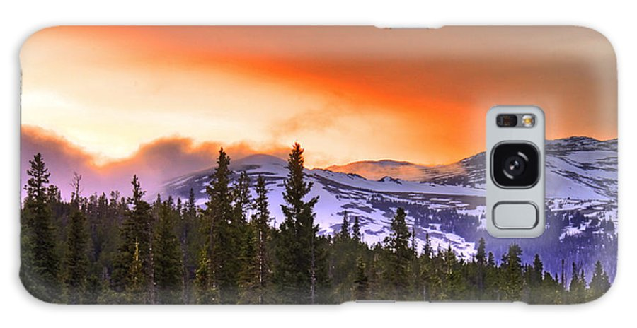 Wyoming Galaxy S8 Case featuring the photograph Big Horn Sunset by Scott Mahon
