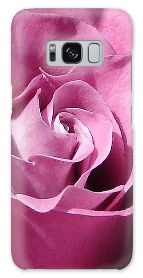 Rose Pink Galaxy Case featuring the photograph Big Pink by Luciana Seymour
