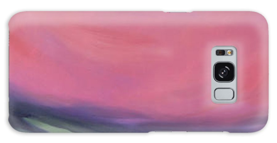 Vibrant Sky Galaxy S8 Case featuring the painting Big Sky by Sandi Snead