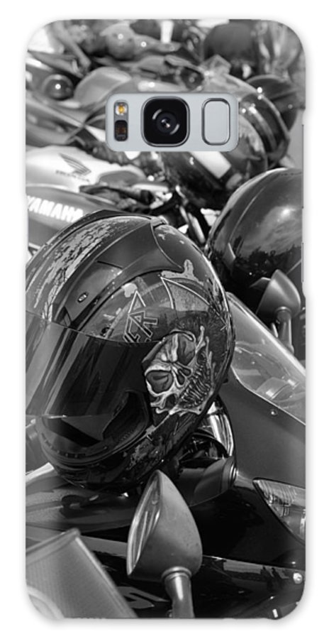 Motorcycles Galaxy S8 Case featuring the photograph Bike Gaggle by Noah Cole