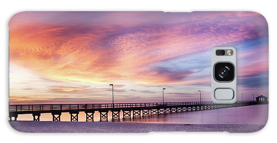 Biloxi Lighthouse Pier Galaxy Case For Sale By Derek Jones