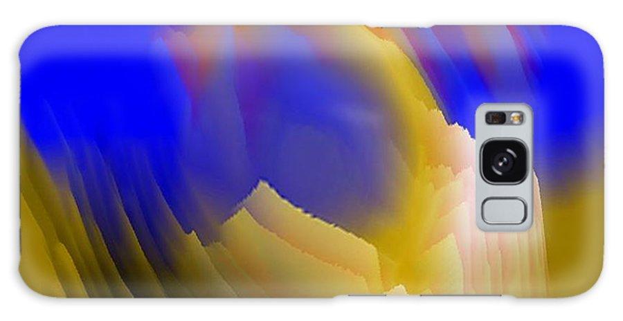 Mistica.birth.wonder.miracle.soul Galaxy S8 Case featuring the digital art Birth Of Wonder-soul by Dr Loifer Vladimir