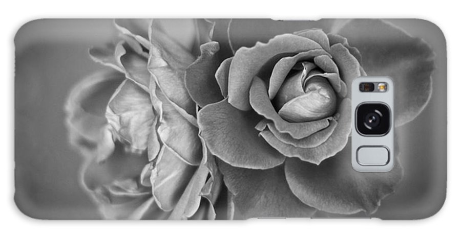 Black And White Galaxy S8 Case featuring the photograph Black And White Roses by Brenton Woodruff