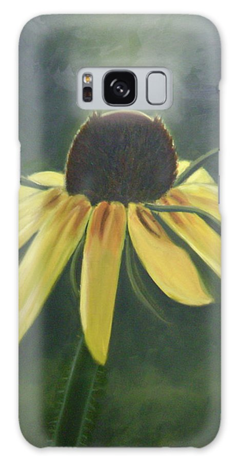 Flower Galaxy S8 Case featuring the painting Black Eyed Susan by Toni Berry