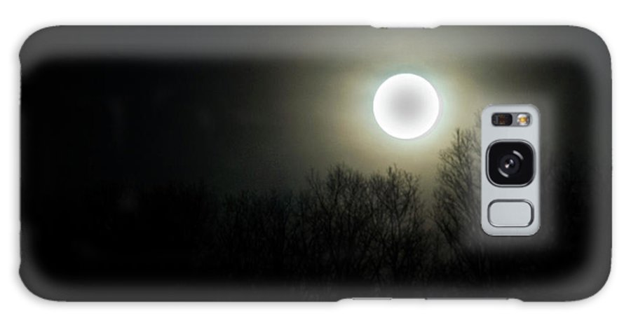 Black Galaxy S8 Case featuring the photograph Black Of The Moon by Douglas Barnett