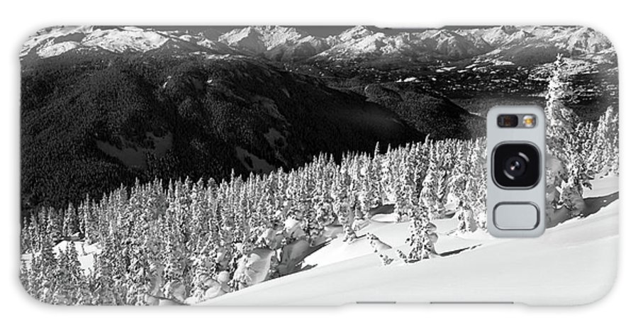 Whistler Galaxy S8 Case featuring the photograph Black Tusk Mountain Scenery by Pierre Leclerc Photography