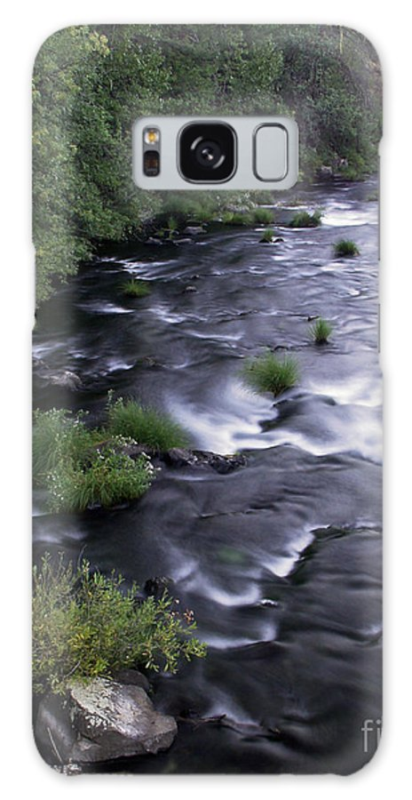 River Galaxy S8 Case featuring the photograph Black Waters by Peter Piatt