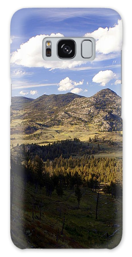 Yellowstone National Park Galaxy S8 Case featuring the photograph Blacktail Road Landscape by Marty Koch