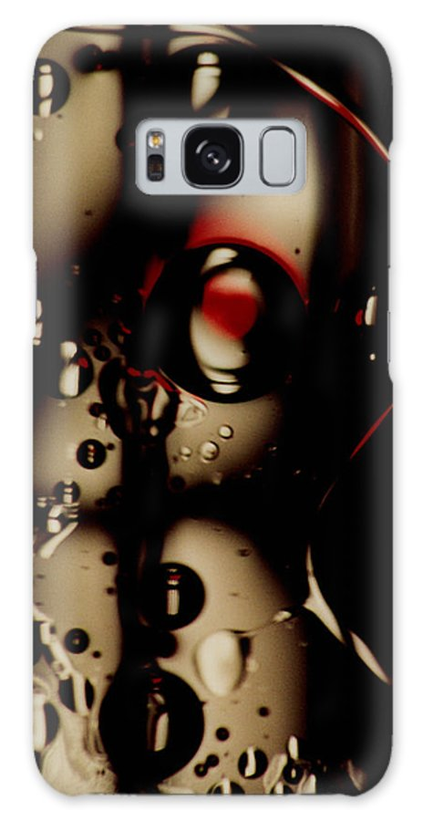 Abstract Galaxy Case featuring the photograph Blade Runner by David Rivas