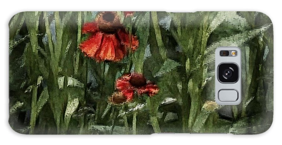 Flora Galaxy S8 Case featuring the photograph Blanket Flowers by Marcia Lee Jones