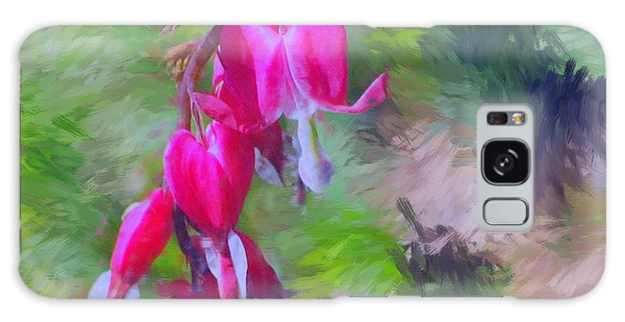 Daffodil Galaxy S8 Case featuring the photograph Bleeding Heart by David Lane