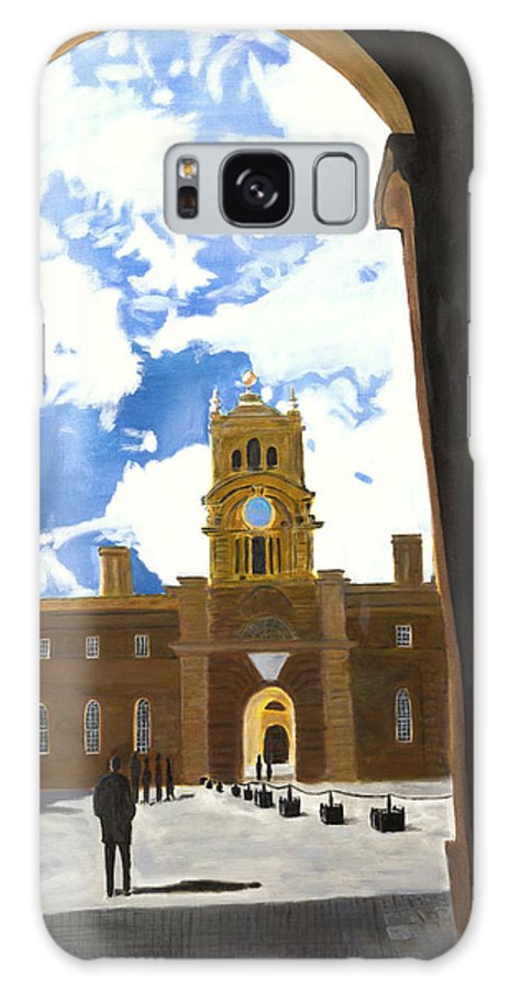 Churchill Galaxy S8 Case featuring the painting Blenheim Palace England by Avi Lehrer