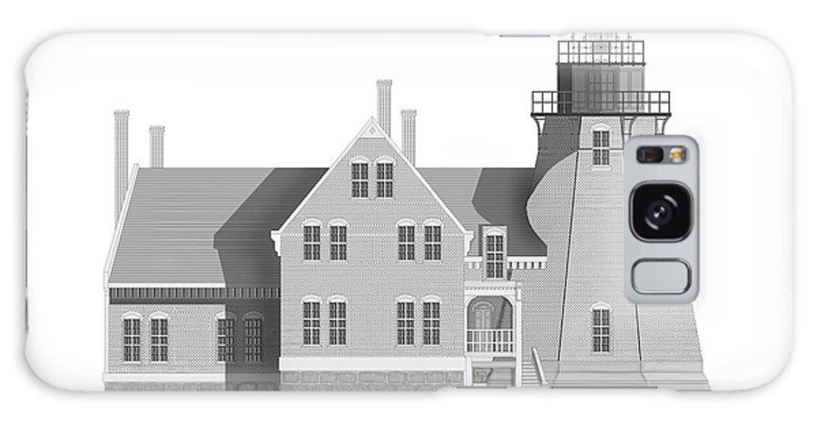 Block Island Rhode Island Galaxy Case featuring the painting Block Island South East Rhode Island by Anne Norskog
