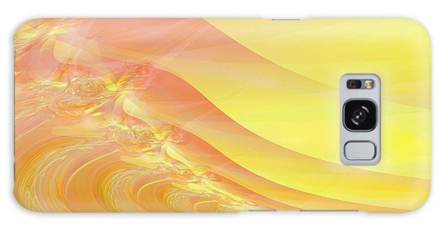 Dunes Galaxy Case featuring the digital art Bloody Dunes by Frederic Durville