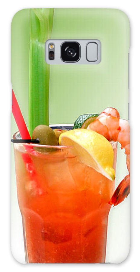 Drinks Galaxy Case featuring the photograph Bloody Mary Hand-crafted by Christine Till