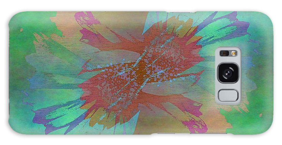 Bloom Galaxy S8 Case featuring the digital art Blooms In The Mist by Tim Allen