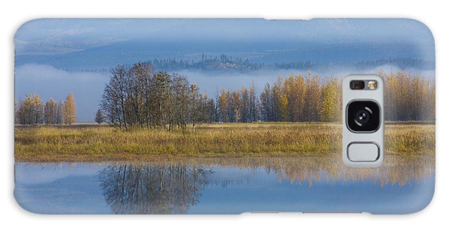 Blue Galaxy S8 Case featuring the photograph Blue And Gold by Idaho Scenic Images Linda Lantzy