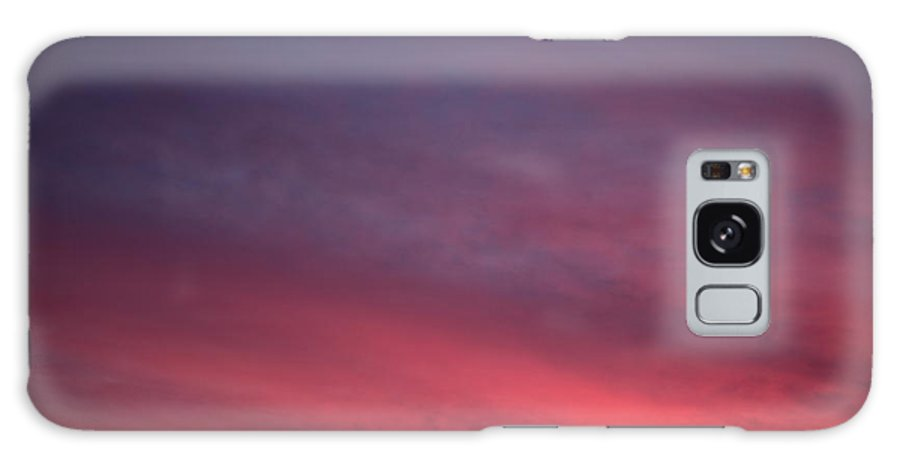 Sunset Galaxy Case featuring the photograph Blue And Orange Sunset by Nadine Rippelmeyer