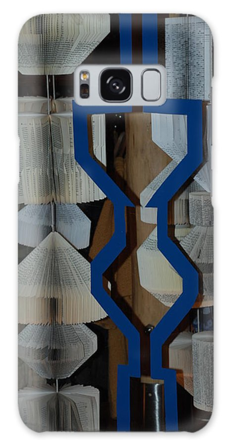 Window Galaxy Case featuring the photograph Blue And White by Rob Hans