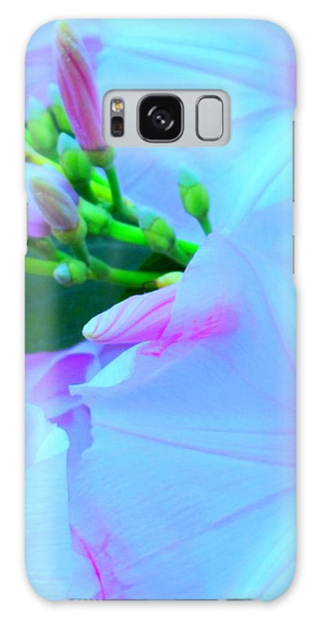 Blue Galaxy S8 Case featuring the photograph Blue Beauty by Ian MacDonald