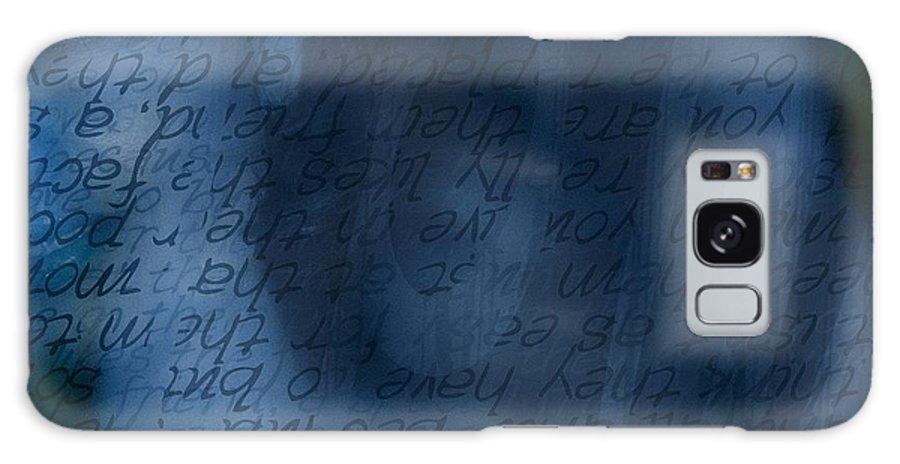 Implication Galaxy S8 Case featuring the photograph Blue Glimpse by Vicki Ferrari