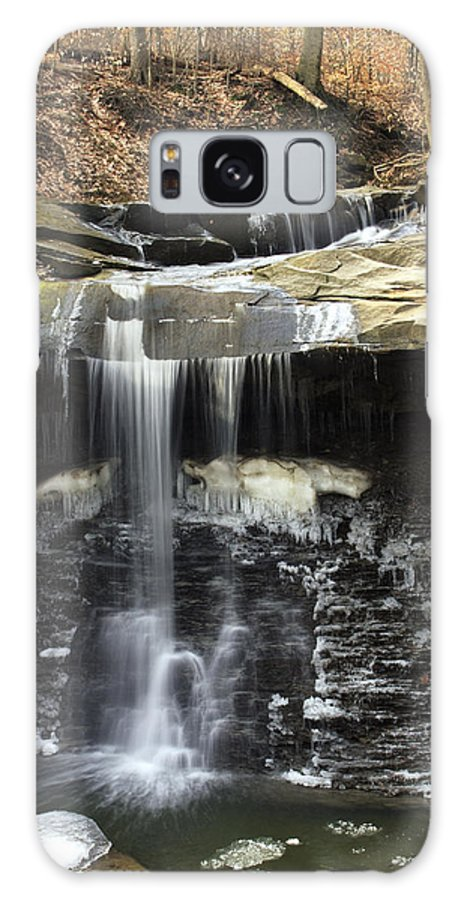 Ohio Galaxy Case featuring the photograph Blue Hen Falls by Amanda Kiplinger