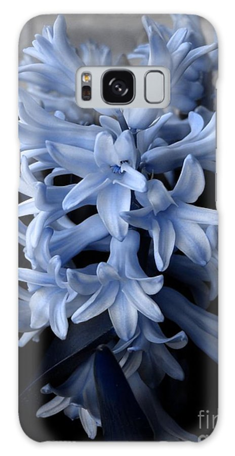 Blue Galaxy S8 Case featuring the photograph Blue Hyacinth by Shelley Jones