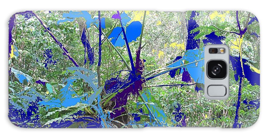 Galaxy S8 Case featuring the photograph Blue Jungle by Ian MacDonald