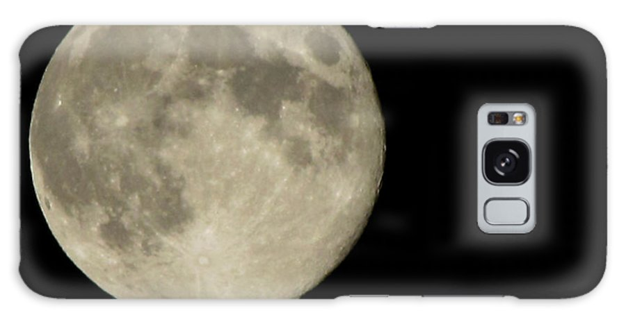 Moon Galaxy S8 Case featuring the photograph Blue Moon 2012 by Serena Ballard