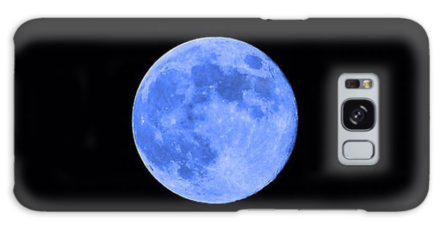 Moon Galaxy S8 Case featuring the photograph Blue Moon by Al Powell Photography USA