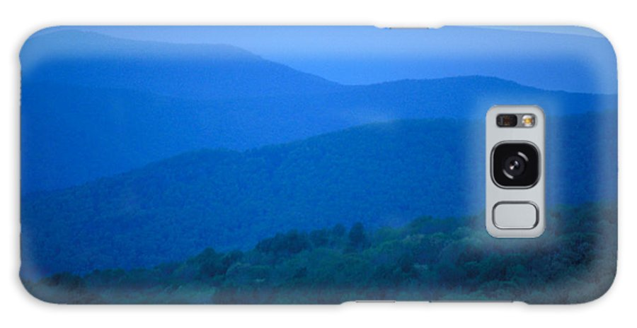 Mountains Galaxy Case featuring the photograph Blue Ridge Mountains by Carl Purcell
