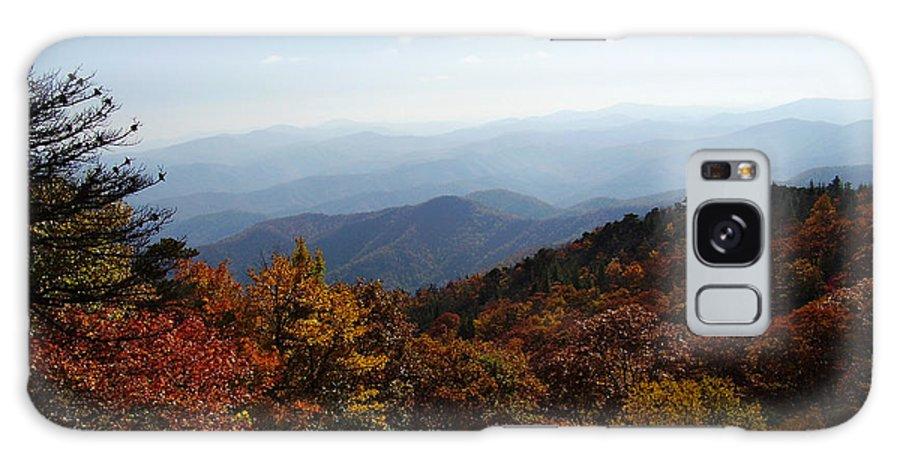 Blue Ridge Mountains Galaxy S8 Case featuring the photograph Blue Ridge Mountains by Flavia Westerwelle
