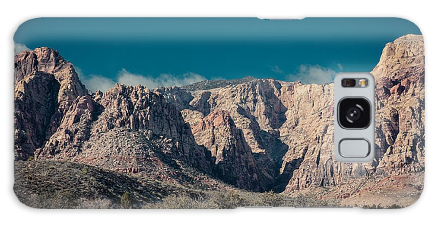 Desert Galaxy S8 Case featuring the photograph Blue Sky Over Red Rock by Rockland Filmworks