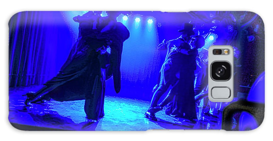 Tangos Buenos Aires Blue Tango Galaxy S8 Case featuring the photograph Blue Tango by Rick Bragan