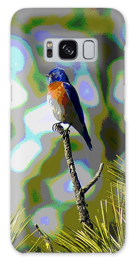 Photo Art Galaxy S8 Case featuring the photograph Bluebird by Ben Upham III