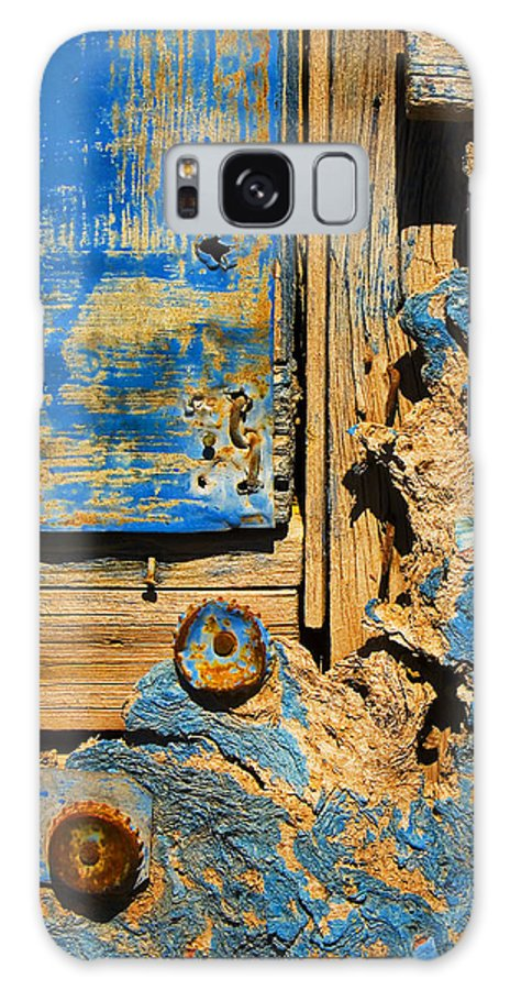 Abstract Galaxy S8 Case featuring the photograph Blues Dues by Skip Hunt