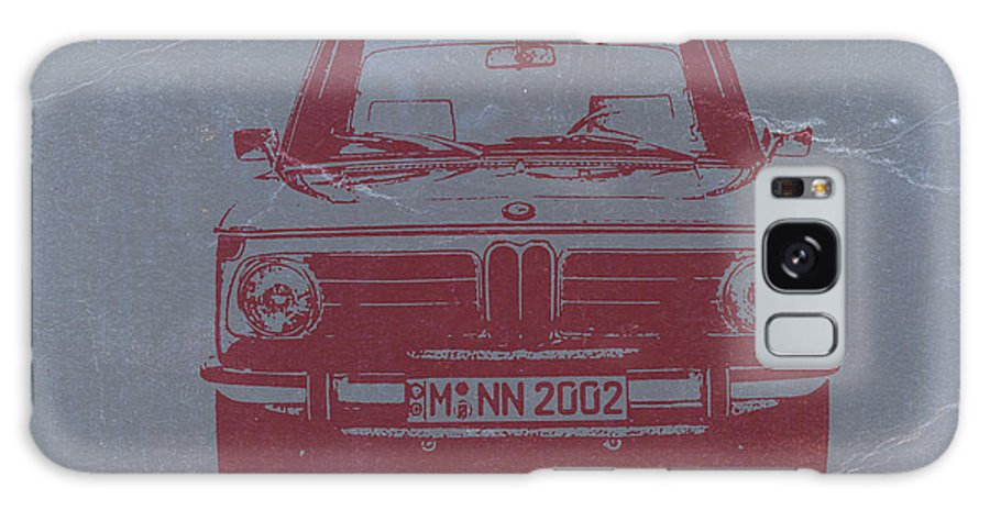 Bmw 2002 Galaxy S8 Case featuring the photograph Bmw 2002 by Naxart Studio