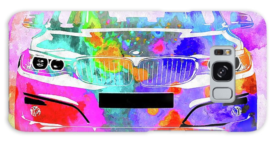 Bmw 3 Gran Turismo Galaxy S8 Case featuring the mixed media Bmw 3 Gran Turismo by Daniel Janda
