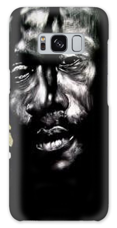 Portrait Galaxy Case featuring the mixed media Bob Na I by Chester Elmore