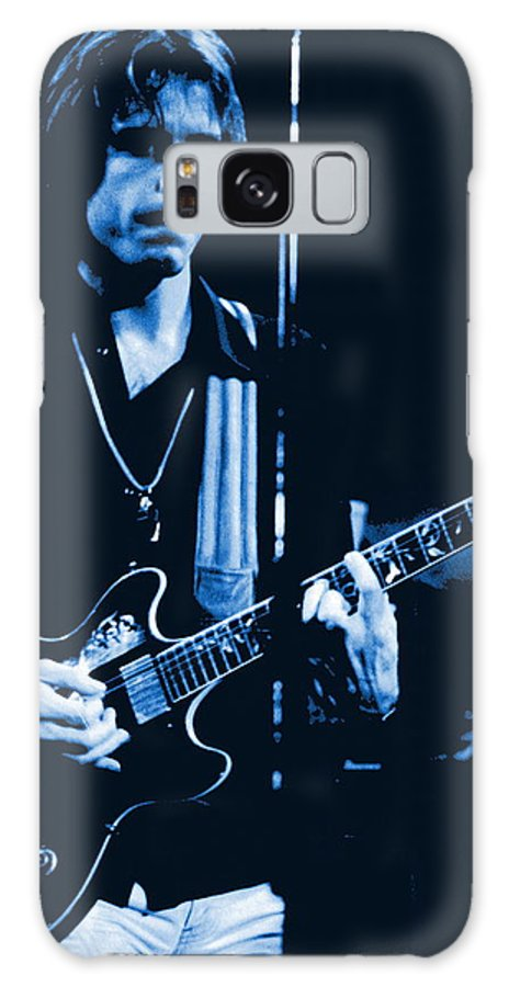 Grateful Dead Galaxy S8 Case featuring the photograph Bob Weir At Winterland 1977 by Ben Upham