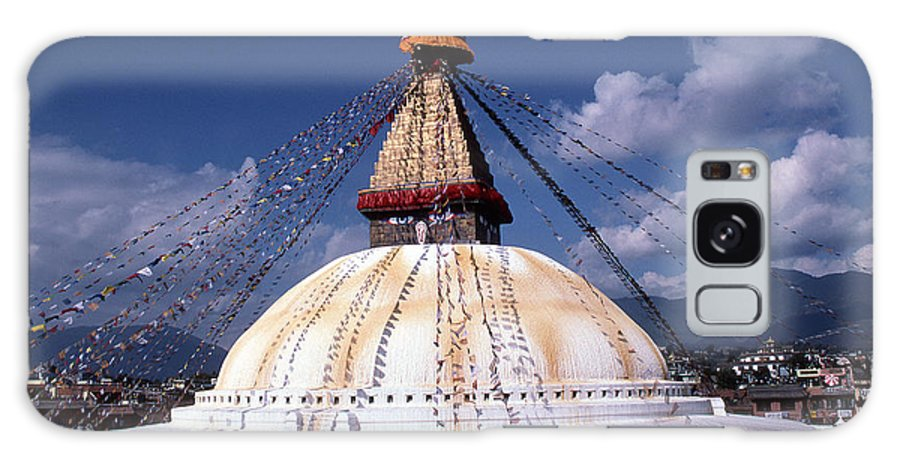 Bodhnath Stupa Galaxy Case featuring the photograph Bodhnath Stupa by Patrick Klauss