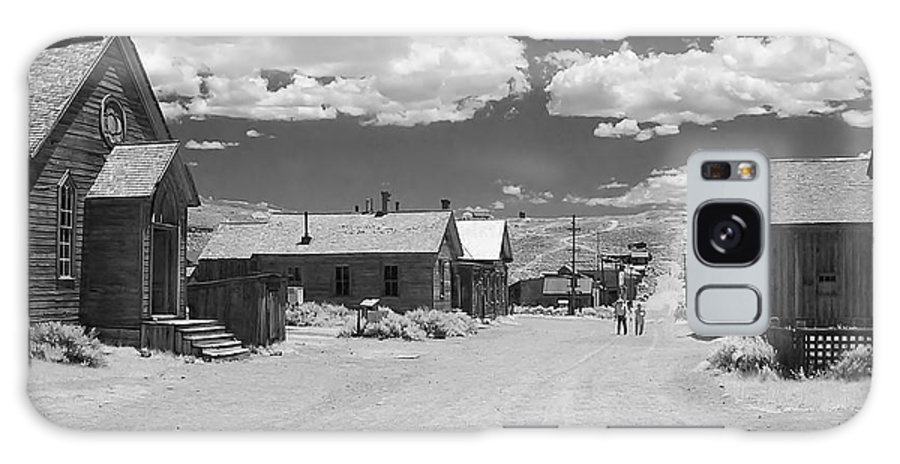 Ghost Town Galaxy S8 Case featuring the photograph Bodie A Ghost Town Infrared by Christine Till