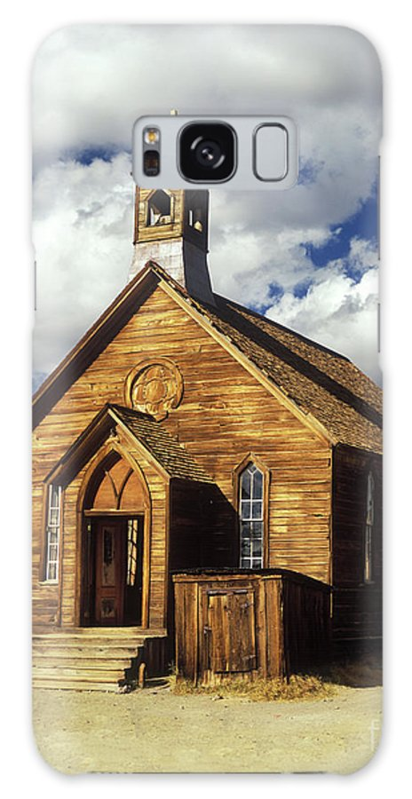 Bodie Galaxy S8 Case featuring the photograph Bodie Church I by Jim And Emily Bush
