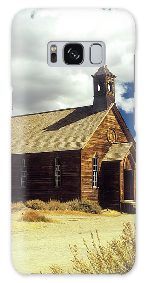 Bodie Galaxy S8 Case featuring the photograph Bodie Church II by Jim And Emily Bush