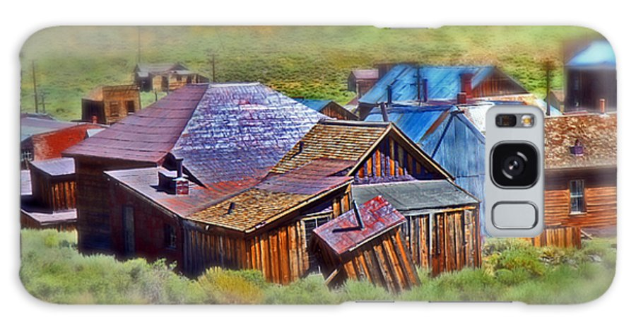 Bodie Ghost Town Galaxy S8 Case featuring the photograph Bodie Ghost Town by Chris Brannen