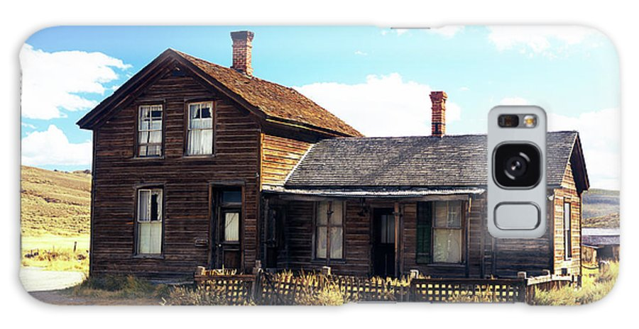 Bodie Galaxy S8 Case featuring the photograph Bodie Houses by Jim And Emily Bush
