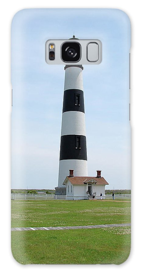 Bodie Lighthouse Galaxy S8 Case featuring the photograph Bodie Lighthouse Nags Head Nc II by Brett Winn